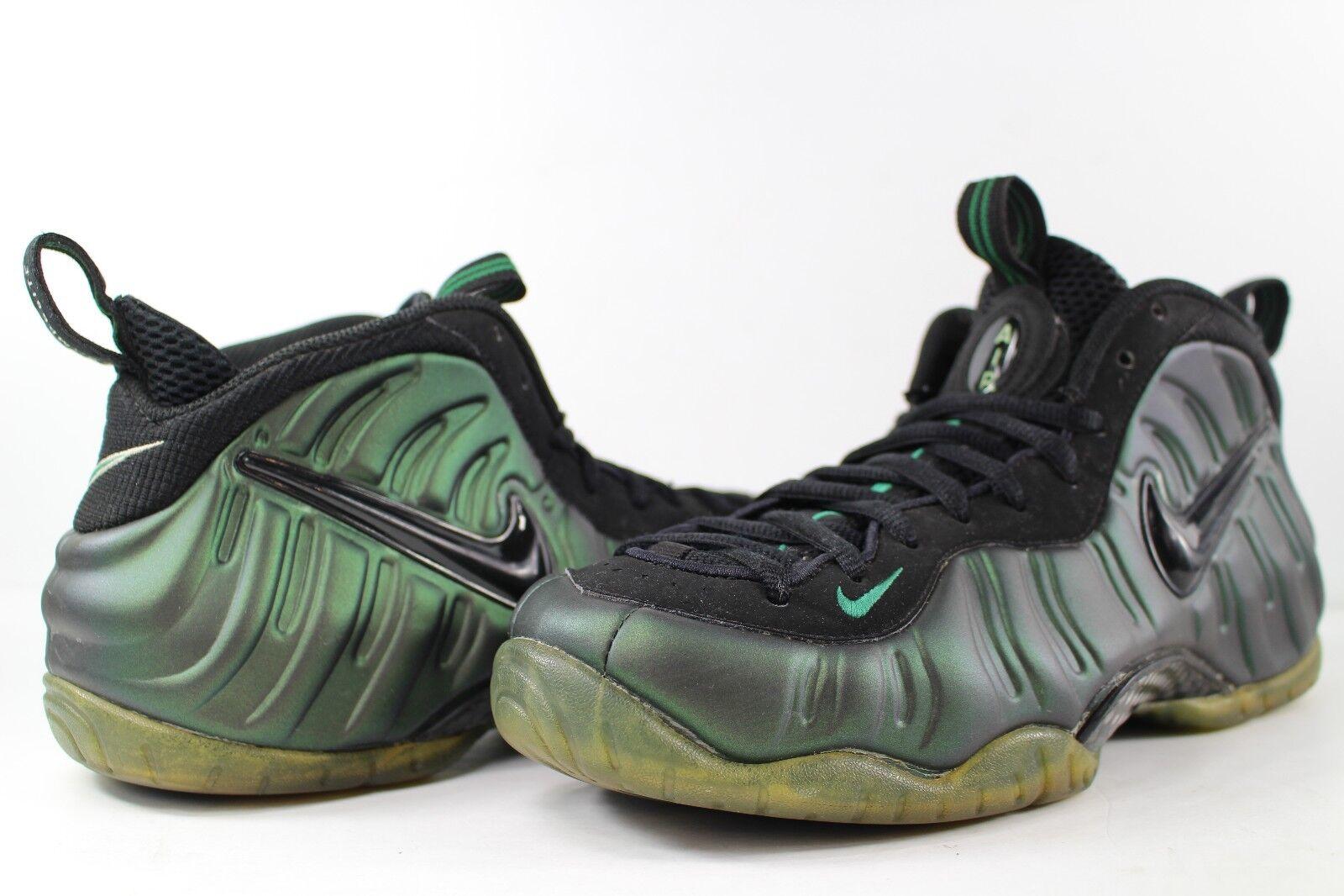 Nike Air Foamposite Pro 9.5 Pine Green Black Size 9.5 Pro 624041-301 92ee26