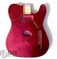 Eden Standard Series Paulownia Body for Telecaster Guitar Metallic Purple Flake