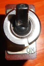 """MARSHALL """"Black Bat"""" Vintage Toggle Switch >(w/ WASHER!)< JMP,JCM,EVH,Fender,MXR"""