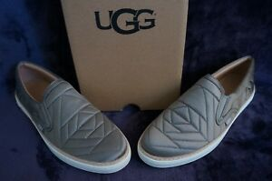 1570c83b237 Details about UGG SOLEDA QUILTED SNEAKERS, US 9.5 Womens, Color: ELEPHANT,  1095533