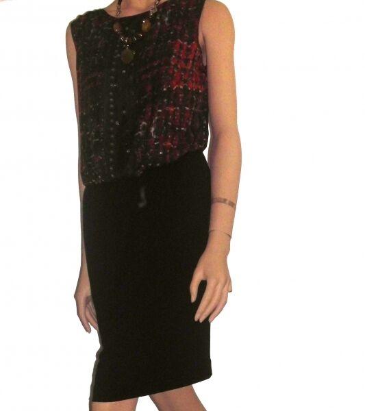 Traumhaft Tunika  Kleid Biba CS 041 schwarz Neu Gr.36