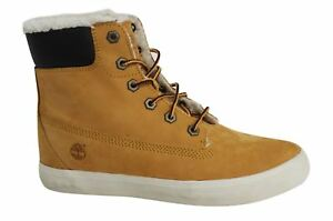 Wheat Flannery Leather 6 Fur Boots Inch Womens Timberland D113 A18xd wXqARRg