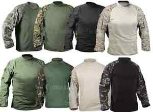 Image is loading Tactical-Combat-Shirt-Lightweight -Moisture-Wicking-and-Breathable 7a86b829076
