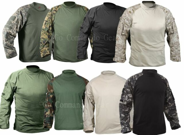 Tactical Combat Shirt - Lightweight Moisture Wicking and Breathable