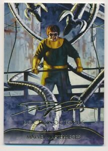 2020 Marvel Masterpieces Trading Card Gold Foil #16 Punisher