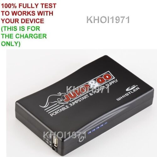 Charger adapter for BLACK RED-WHITE-TRIM Whistler WJS-3000 Mighty jump starter