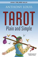 Tarot Plain And Simple By Anthony Louis, Robin Wood (illustrator) - Paperback