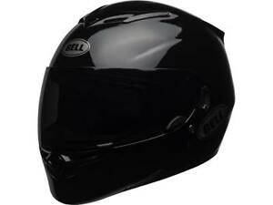 CASQUE-INTEGRAL-BELL-RS2-SOLID-GLOSS-BLACK-CHOIX-TAILLE-XS-XXL