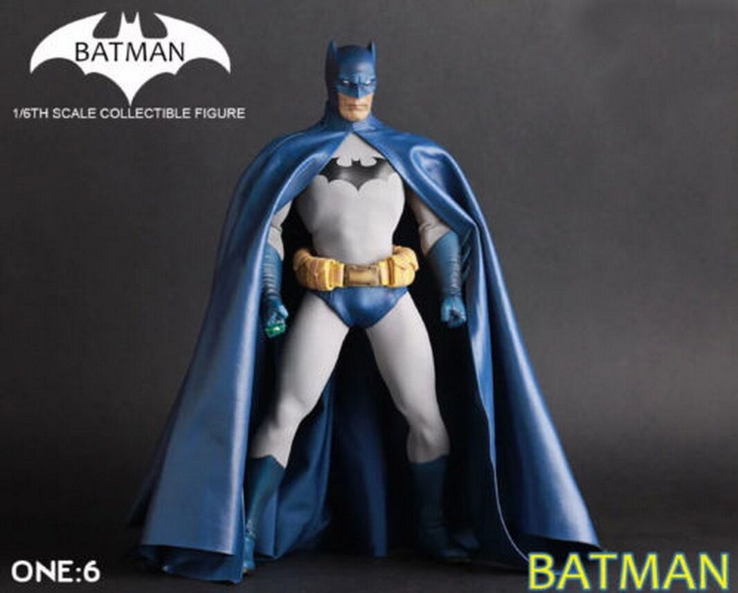 1/6TH Crazy Toys Collectible Batman Action Figure Statue Model Doll  Blau