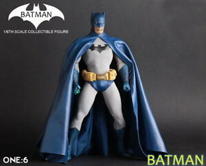 1-6TH-Crazy-Toys-Collectible-Batman-Action-Figure-Statue-Model-Doll-Blue