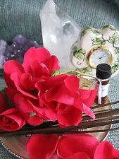 NEW NATURAL FRENCH VANILLA ROSE AROMATHERAPY 4ml. FRAGRANCE OIL--SEXY!