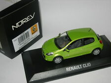 Norev 1:43 517591 Renault Clio 2009 Green NEW