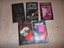 World of Darkness 5 Misc Anthologies of Short Stories