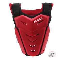 Pulso renegado Rojo BMX MTB Mountain Bike Protector De Pecho Protector del cuerpo armadura Roost