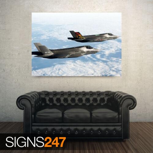 Bf 1 f 35 combattants 4035 photo poster print art A0 A1 A2 A3 A4