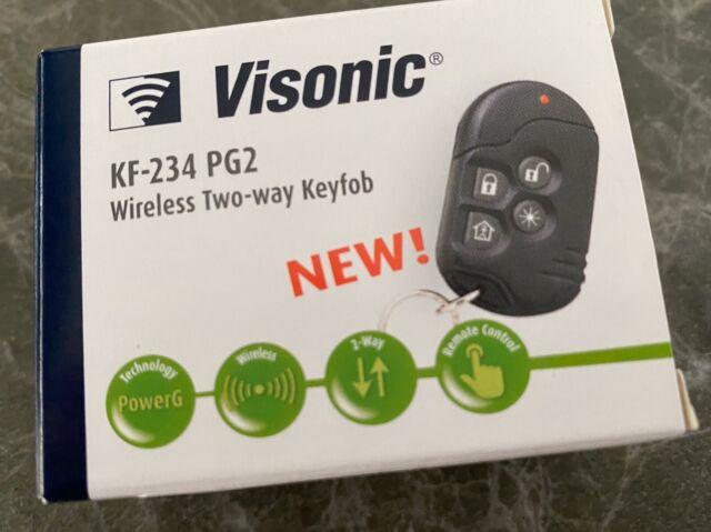 New Visonic KP-160 PG2 N WH Wireless Touchscreen Keypad 915-0:037