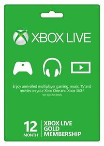 Microsoft-Xbox-Live-Gold-12-Month-1-Year-Membership-USA-Fast-Delivery