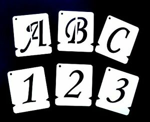 image is loading alphabet stencils individual letter stencils a z amp 0