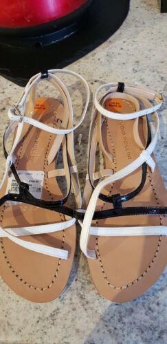 Uk Pollini Italian Designer 2 5 Sandals Studio Taille g4FXxwqq