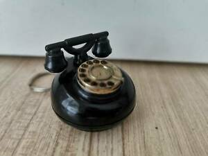 Vintage Antiques Rotary Phone Telephone Miniature Keychain Ring For Collectibles Ebay