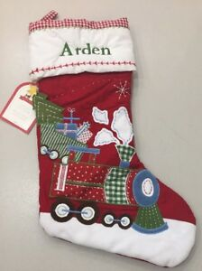 Nwt Pottery Barn Kids Train Quilted 2016 Holiday Christmas