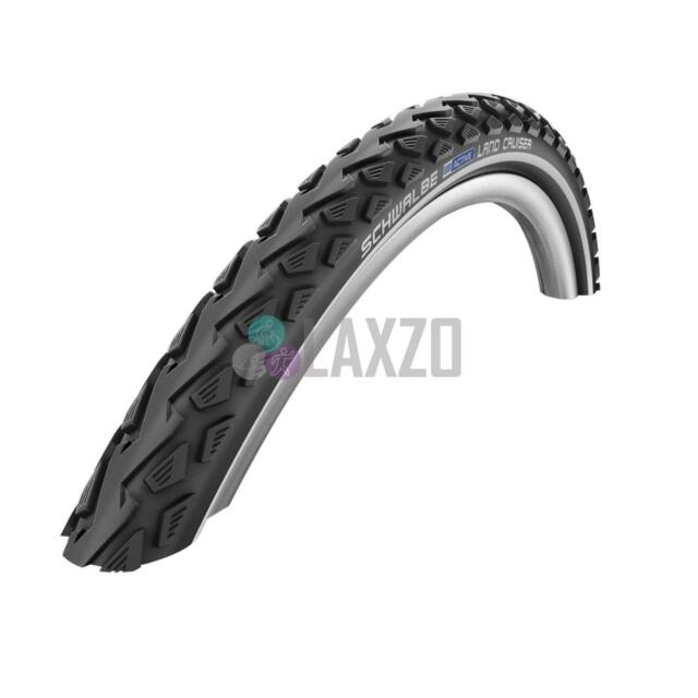 700 x 40 Schwalbe Land Cruiser Active Wired Bike Bicycle Tyre Black