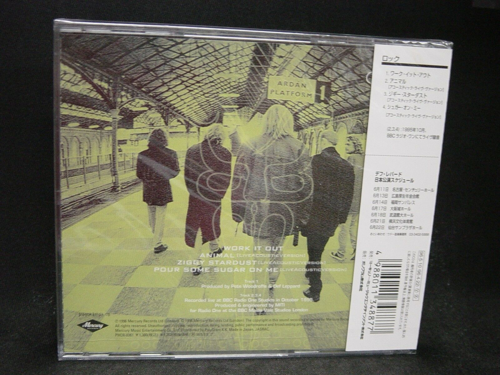 Def Leppard Work It out Phcr-8361 CD Japan 1996