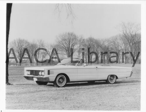 Ref. #56961 1965 Mercury Monterey Convertible Coupe Factory Photo