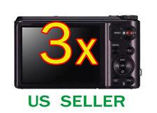 3x Samsung WB850F Clear LCD Screen Protector Guard Shield Film