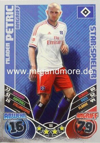 Match coronó 2011//2012 mladen petric #108 Star-jugador