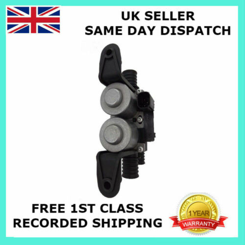 NEW HEATER CONTROL VALVE DUAL SOLENOID FOR BMW E39 530 540 E53 X5 64128374995