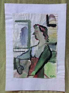 Fritz Urschbach (1880 Venningen - 1969 München) Entartete Kunst Aquarell - Hassel, Deutschland - Fritz Urschbach (1880 Venningen - 1969 München) Entartete Kunst Aquarell - Hassel, Deutschland