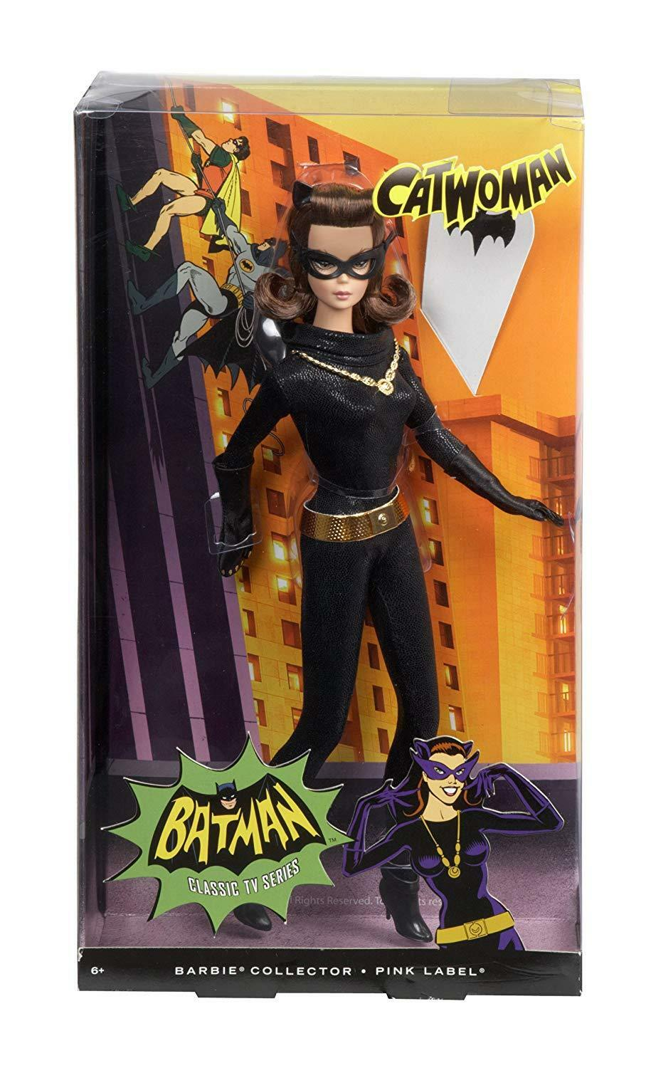 Barbie Collector Classic Catwoman Doll  NEW