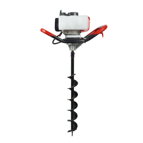 2 2hp 52cc Gas Powered Post Hole Digger With 4 8 10 Earth Auger