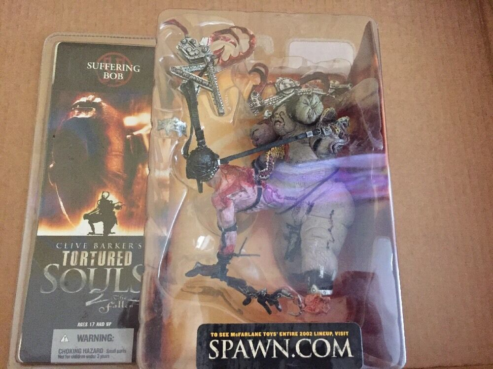 McFarlane Toys Clive Barkers Torturouge Souls 2 THE FALLEN SUFFERING BOB action fi