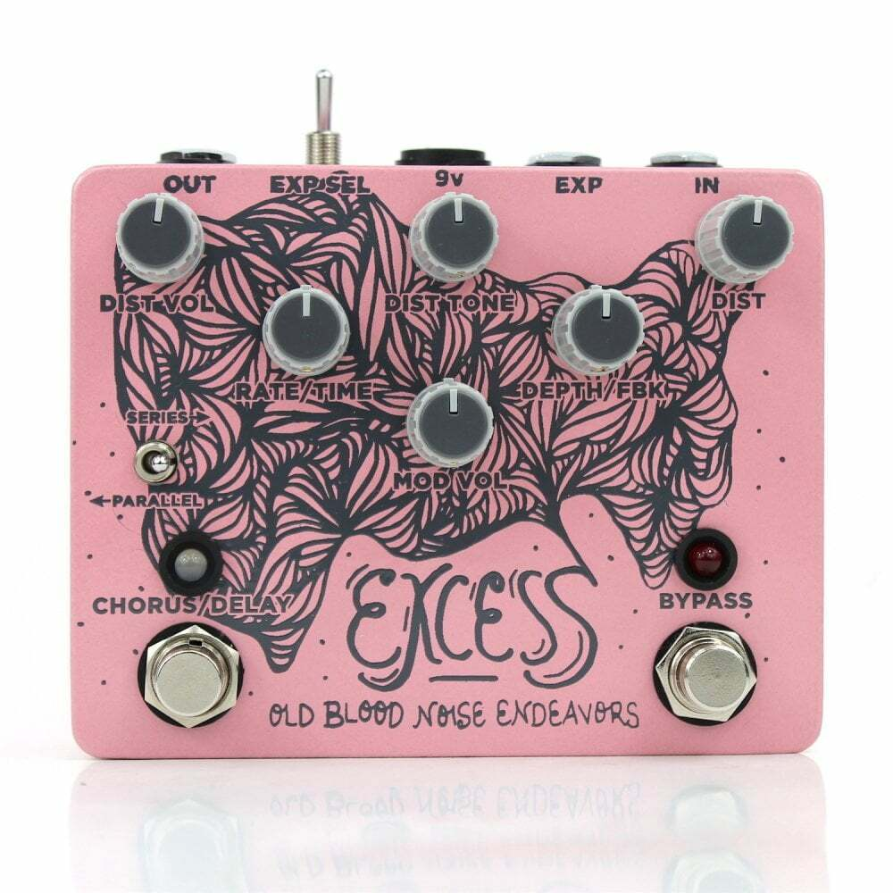 Old Blood Noise Endeavors Excess Distortion Chorus & Delay