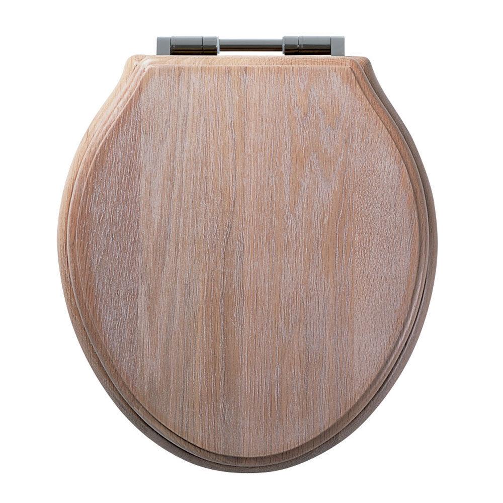 Roper Rhodes vertwich solide Limed Oak Wc Siège 8099 slisc