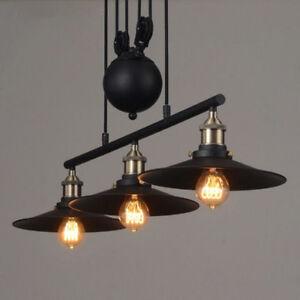 Industrial-Chandelier-Pulley-Ceiling-Light-Pendant-Lamp-Kitchen-Island-Fixture