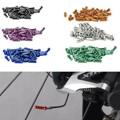 Bicycle Brake Cable End Caps Al Alloy Bike Shifter 50 Pcs//set Inner Cable M3M5