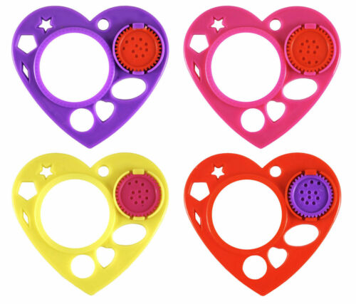 Toys Choose Quantity Heart Spiral Stencils Girls Kids Party Bag Fillers Craft