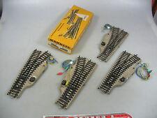 AL354-1# 4x Märklin H0/AC 5202 (5203, 5204) morbido (m pista), testato, 1x