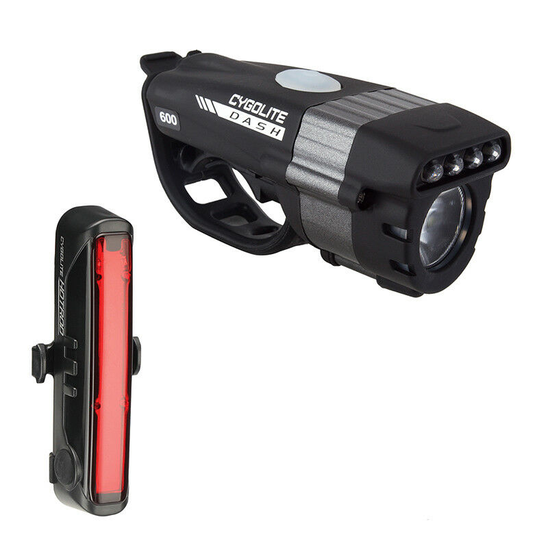 Cygolite Dash  Pro 600 Front + Hotrod 50 Rear LED Light Combo USB Rechargeable  more affordable