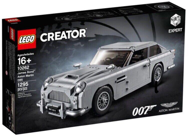 LEGO 10262 Expert James Bond Aston Martin DB5 NUOVO CON SCATOLA SPEDIZIONE GRATUITA