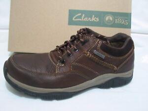 7 5 tamaño zapatos y cuero suela Clarks Nuevo Go fuerte 7 de marrón Goretex de 6 Rampart 5 gWWZ1wqT