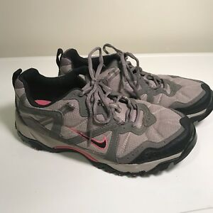 Trac Size Women's Nike Hiking Shoes Gray All Vintage Euc Acg Trail 9 q8w70d