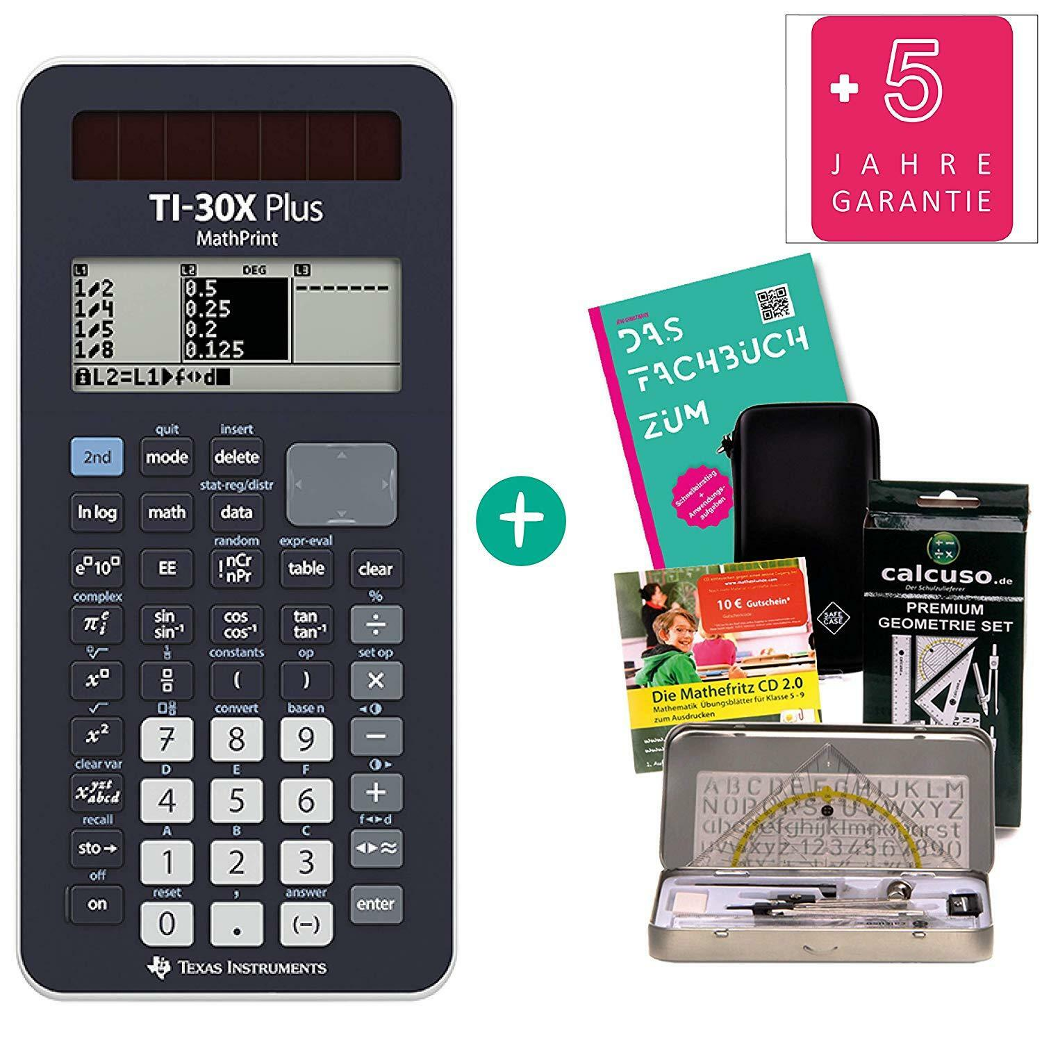Streberpaket FB  TI 30 X Plus Mathprint