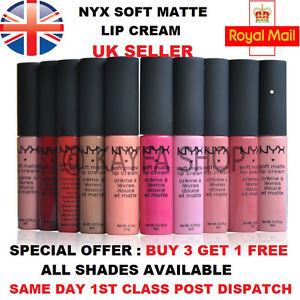 NYX-SOFT-MATTE-LIP-CREAM-UK-SELLER-ALL-SHADES