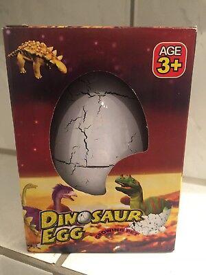 5X Schlüpfen wachsenden Dinosaurier Dino Eier hinzufügen Wasser MagiesüßeKindABO