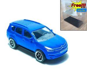 Majorette Dacia Duster Blue Racing Car 1:64 225A no Package Free Display Box