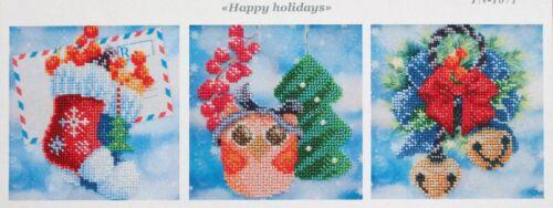 Noël Hiver Stick Boîte Perles stickbild Stick modèle image le canevas 606